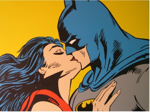 Beso N.3 Batman y vampirela