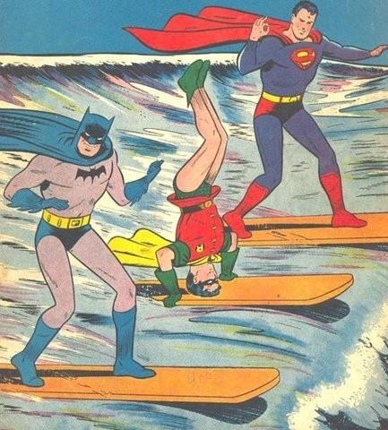 Sufers batman and robin
