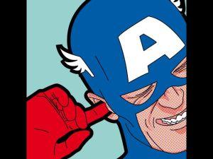 captain america oreja