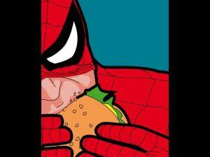 hamburguesa spider